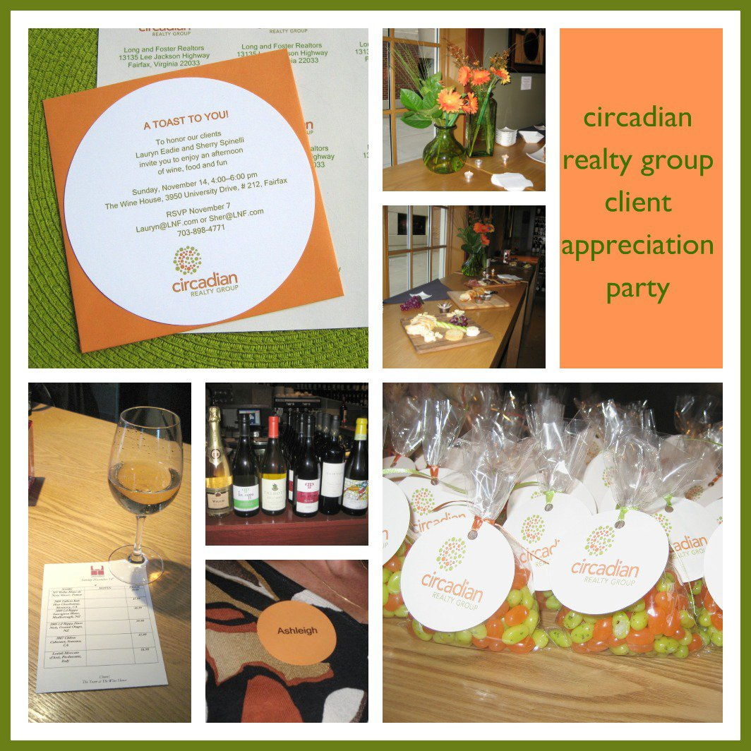 Customer Appreciation Wine Event Invitation