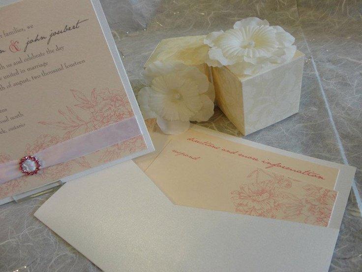 Customizable Pocket Wedding Invitations