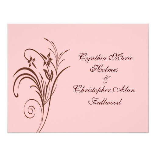 Customize Your Own Wedding Invitations
