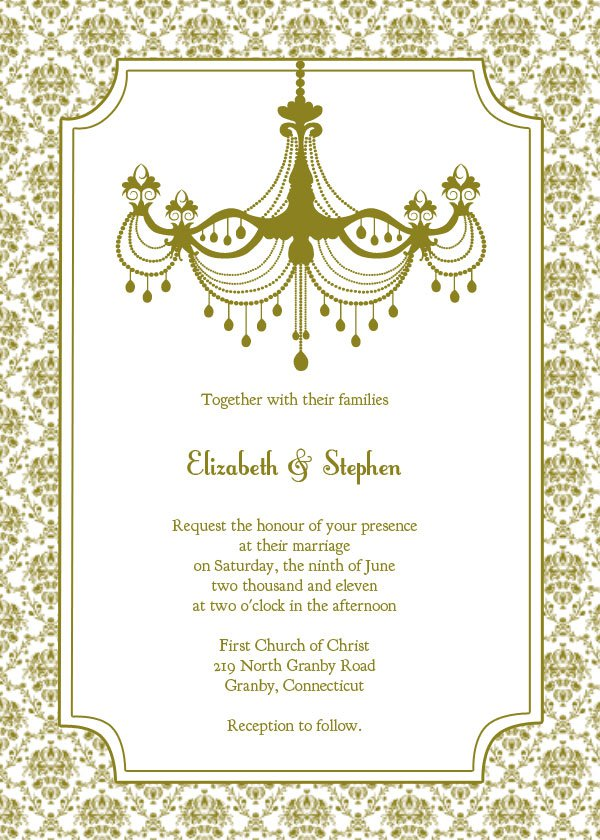 Customize Your Own Wedding Invitations Online Free