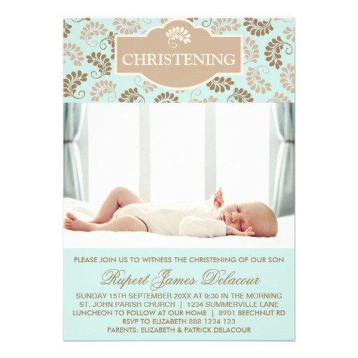Cute Baptism Invitation Templates