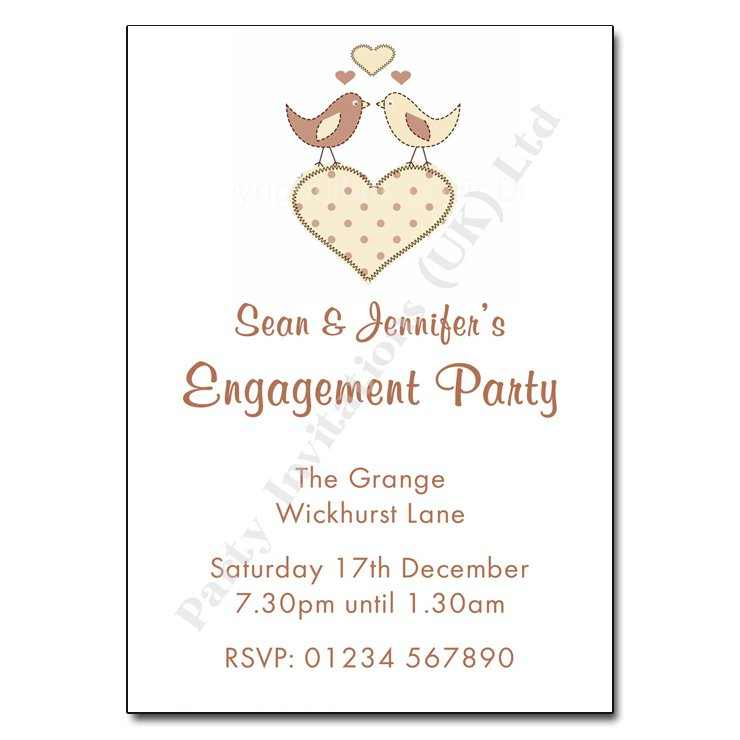 Engagement Party Invitation Wording – How to Word Engagement Party Invitations