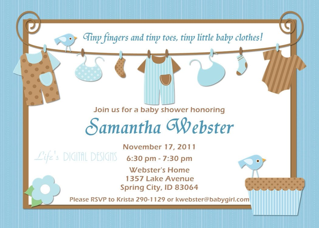 Cute Invitation Sayings For Baby Shower