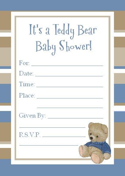 Cute Simple Invitations Printable