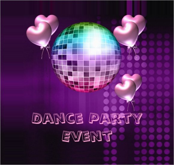 Dance Party Invitation Wording