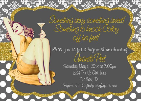 Design Your Own Bachelorette Party Invitations