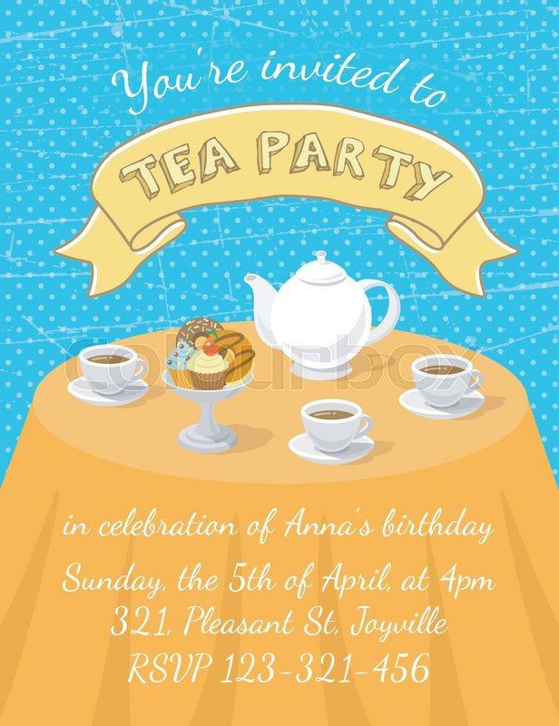 Dessert Social Invitation