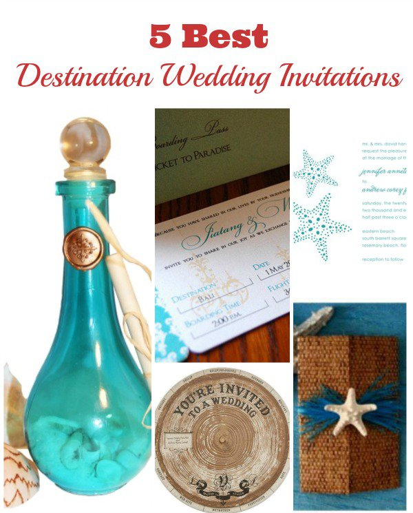 Wedding Invitations For Destination Wedding