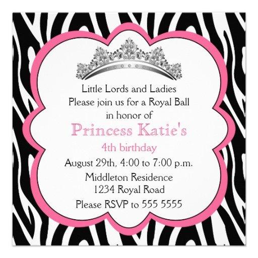 Diamond Birthday Party Invitations