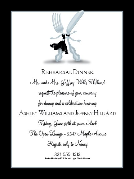 Dinner Dance Invitations