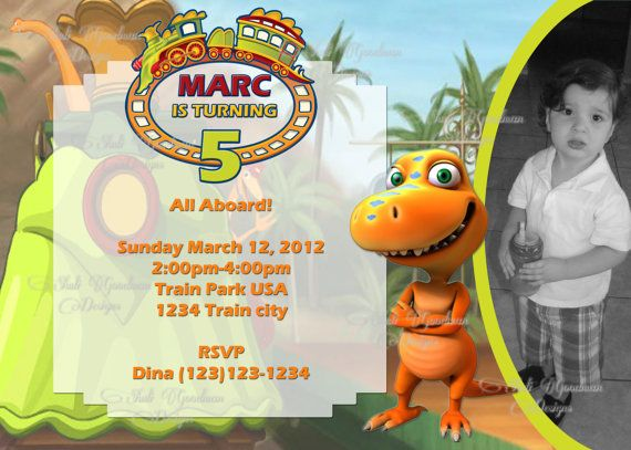 Dinosaur Train Invitations