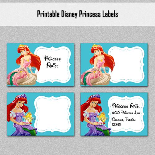 Disney Ariel Invitations