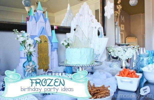 Disney Frozen Party Invitation Ideas
