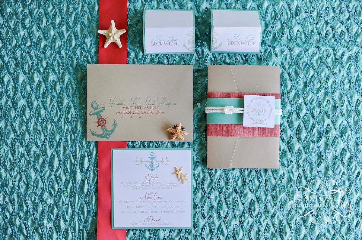Disney Little Mermaid Wedding Invitations