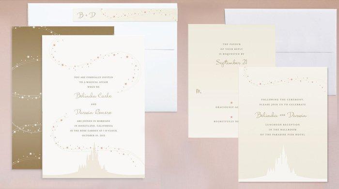 Disney Wedding Invitations Wording