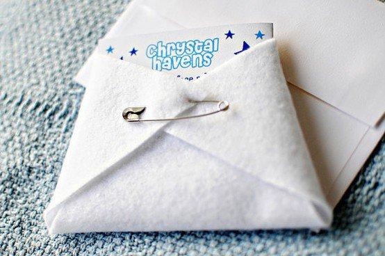 Diy Baby Shower Diaper Invitations