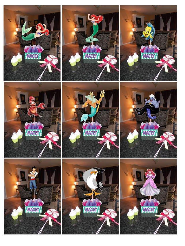 Diy Little Mermaid Birthday Party Ideas