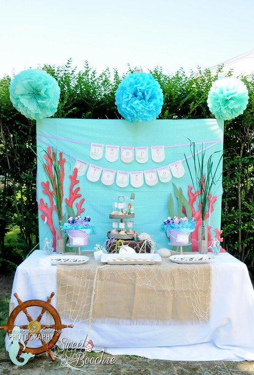 Homemade Little Mermaid Party Ideas