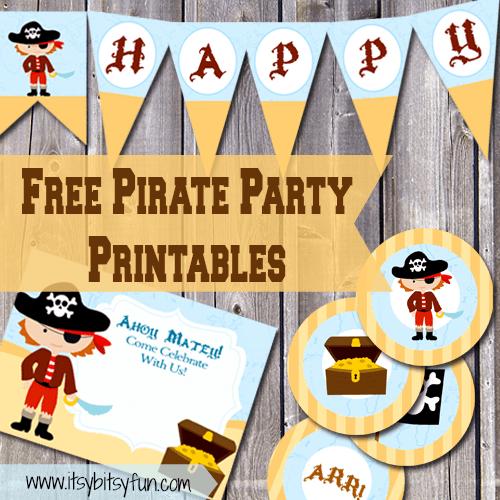 Diy Pirate Invitations