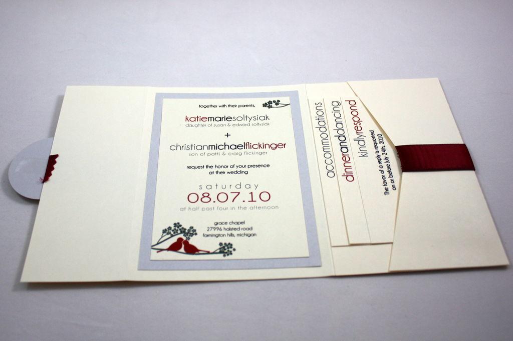 Diy Pocket Wedding Invitation Ideas