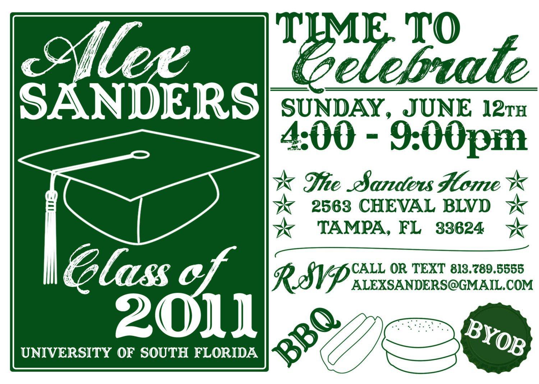 Do It Yourself Graduation Invitations