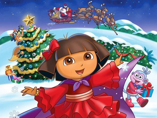 Dora The Explorer Christmas