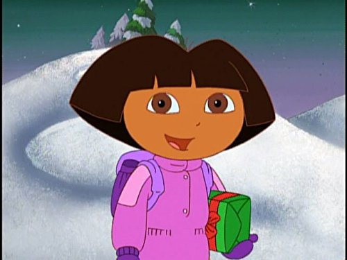 Dora The Explorer Santa