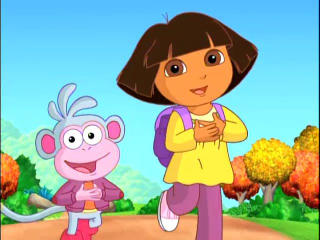 Dora The Explorer Thanksgiving Episode