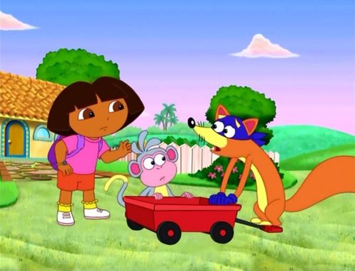 Dora The Explorer The Big Red Chicken&