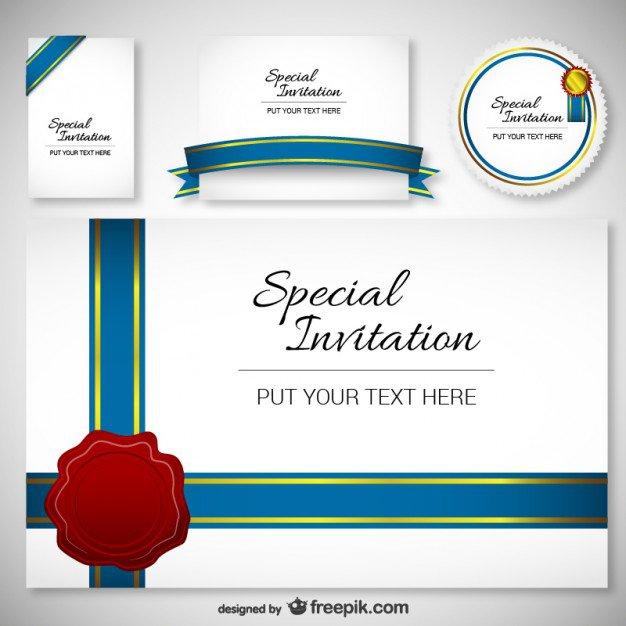 Downloadable Invitation Templates Free