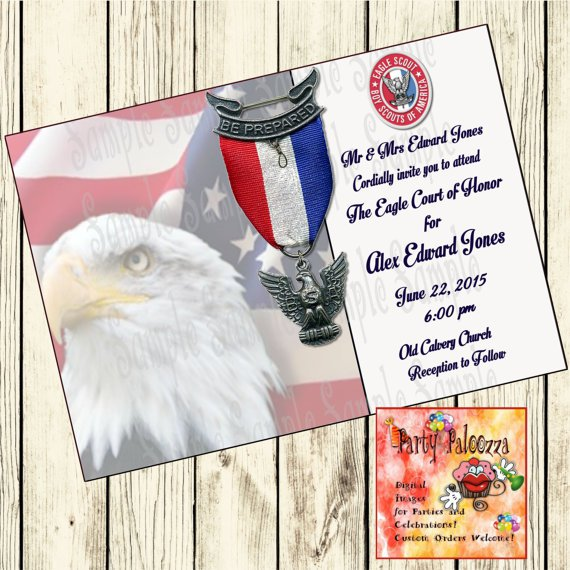 eagle scout invitations print