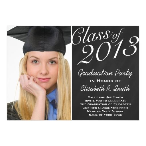 Easy Graduation Invitations