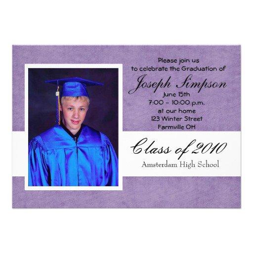 Easy Graduation Invitations To Make