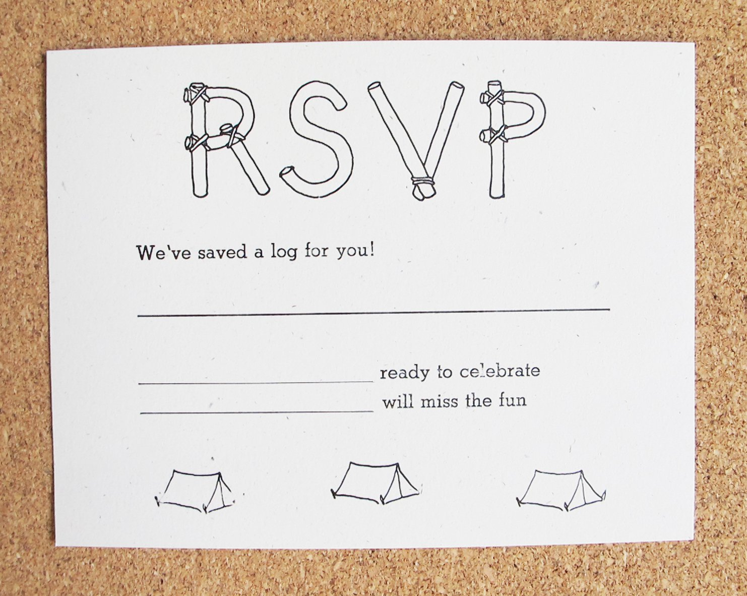 Eco-friendly Recycled Paper Invitations