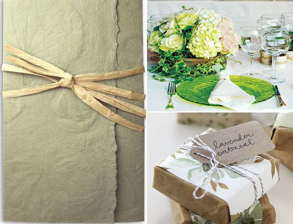 Eco Friendly Wedding Invitation Ideas