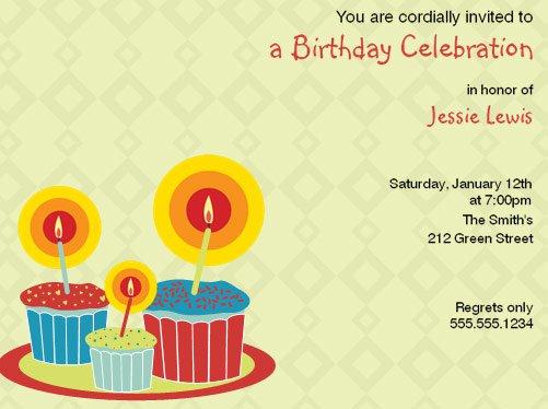 Electronic Birthday Invitations