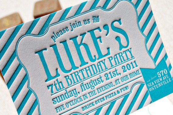 Elegant Birthday Dinner Invitation Designs