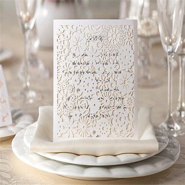 Elegant Blank Party Invitations