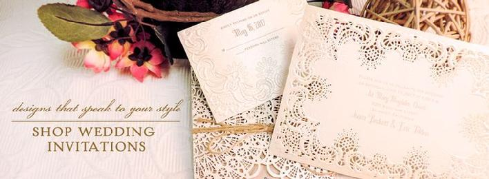 Elegant Bridal Invitations Carlson Craft