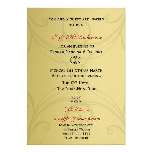 Elegant Corporate Event Invitations