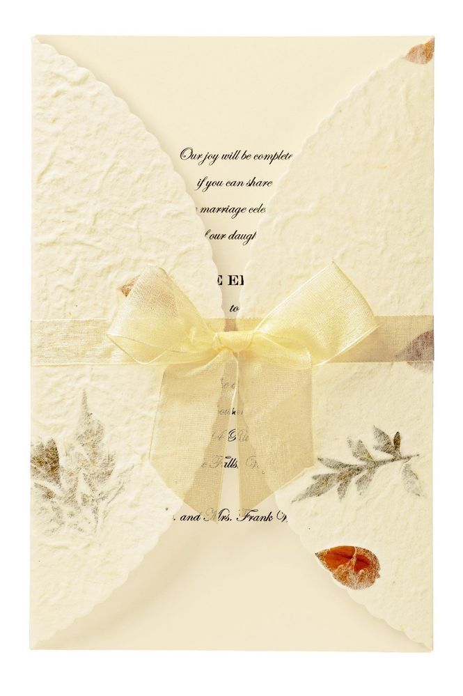 Elegant Diy Wedding Invitation Kits