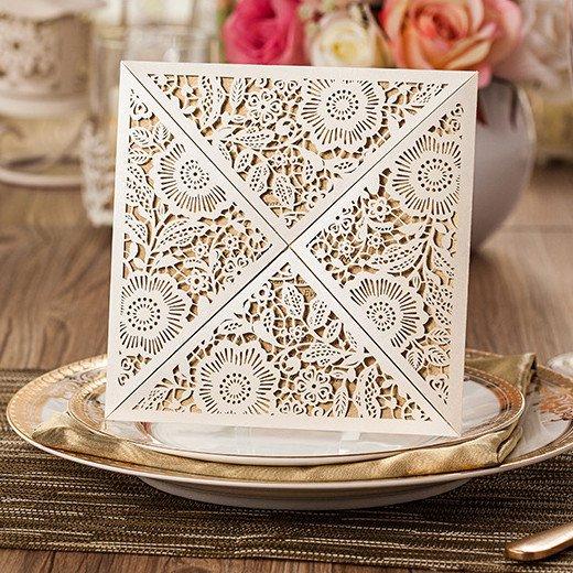 Elegant Engagement Invitation Cards