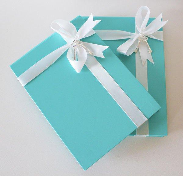 Elegant Tiffany Blue Wedding Invitations