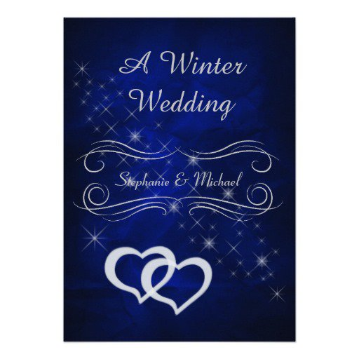 Elegant Winter Wonderland Invitations