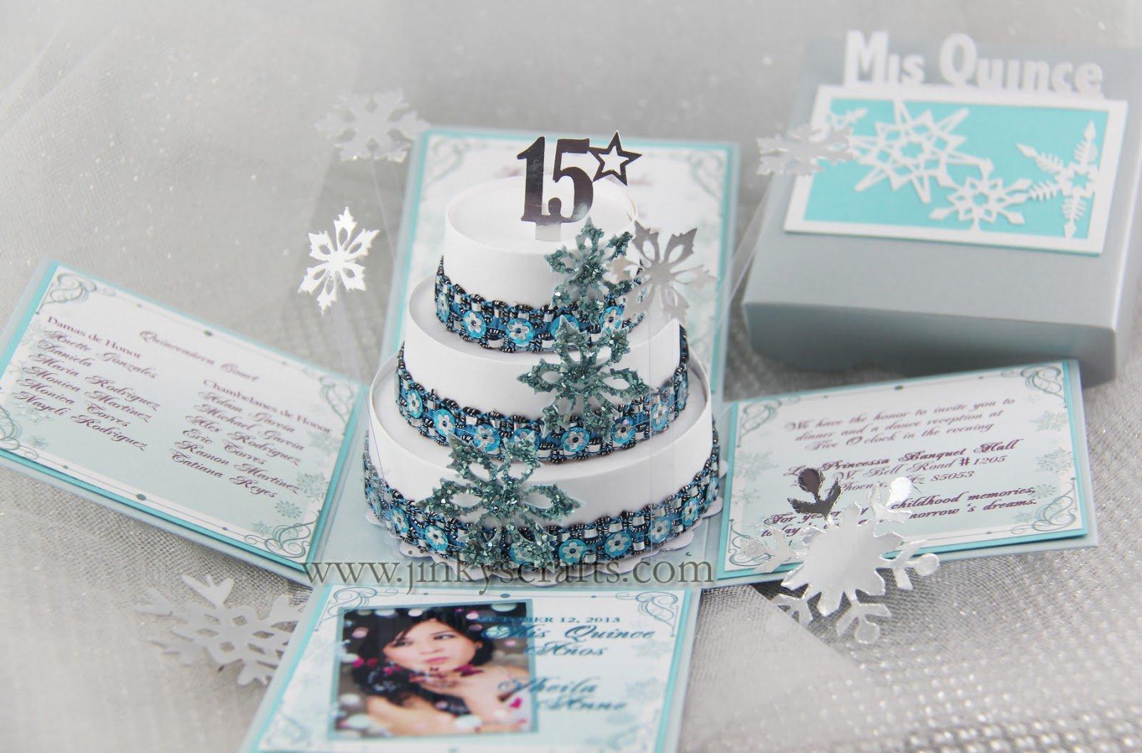 Elegant Winter Wonderland Invitations