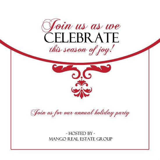 Employee Christmas Party Invitation
