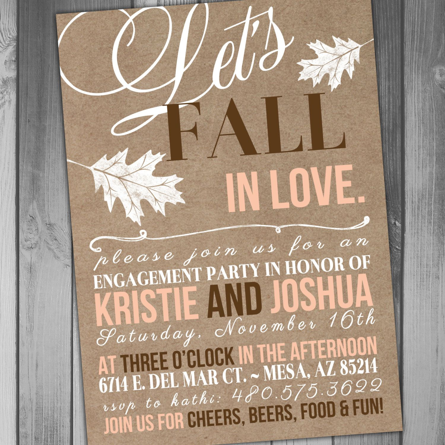 Engagement Party Invitations Templates Uk