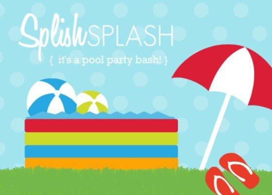 Evening Beach Party Invitation