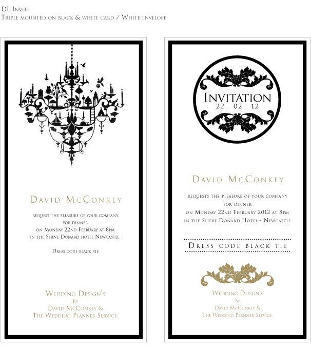 Evening Scene Wedding Invitations