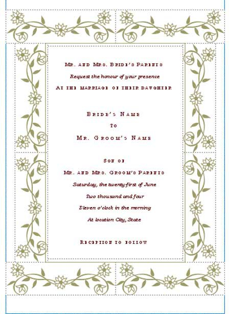 Event Invitation Templates Free Download